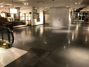 Furniture Store Concrete Cleaning and Refinish (3)