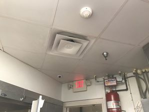 Before & After Cleaning Greasy Kitchen Ceiling & Vents in Cleveland, OH (2)
